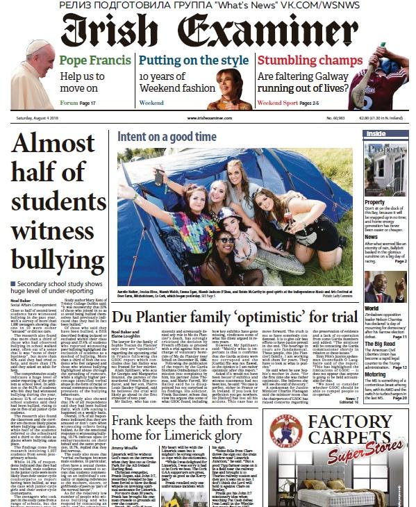 Irish Examiner – 04.08.2018