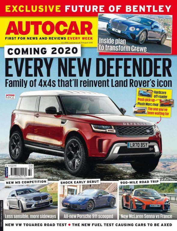 Autocar UK – 08 August 2018