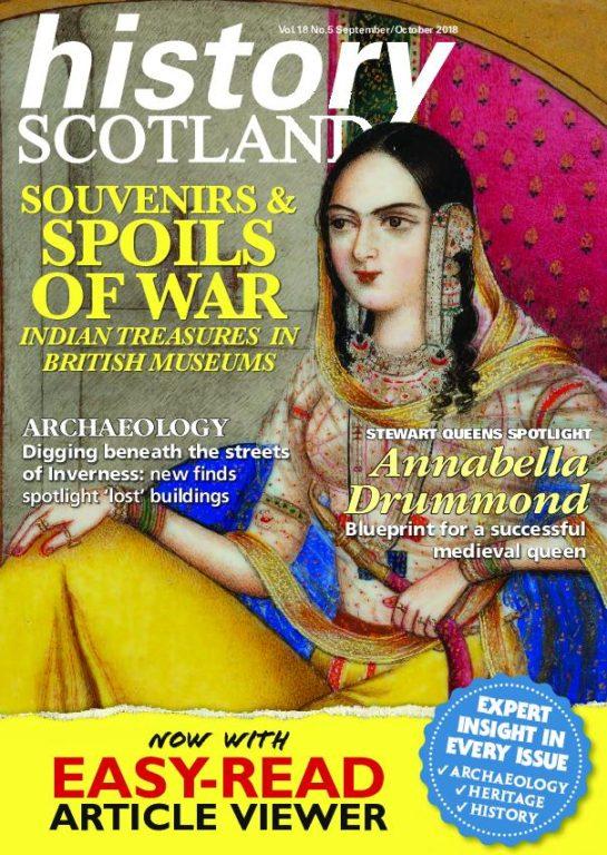 History Scotland – September-October 2018