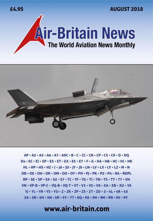 Air Britain Magazine – August 2018