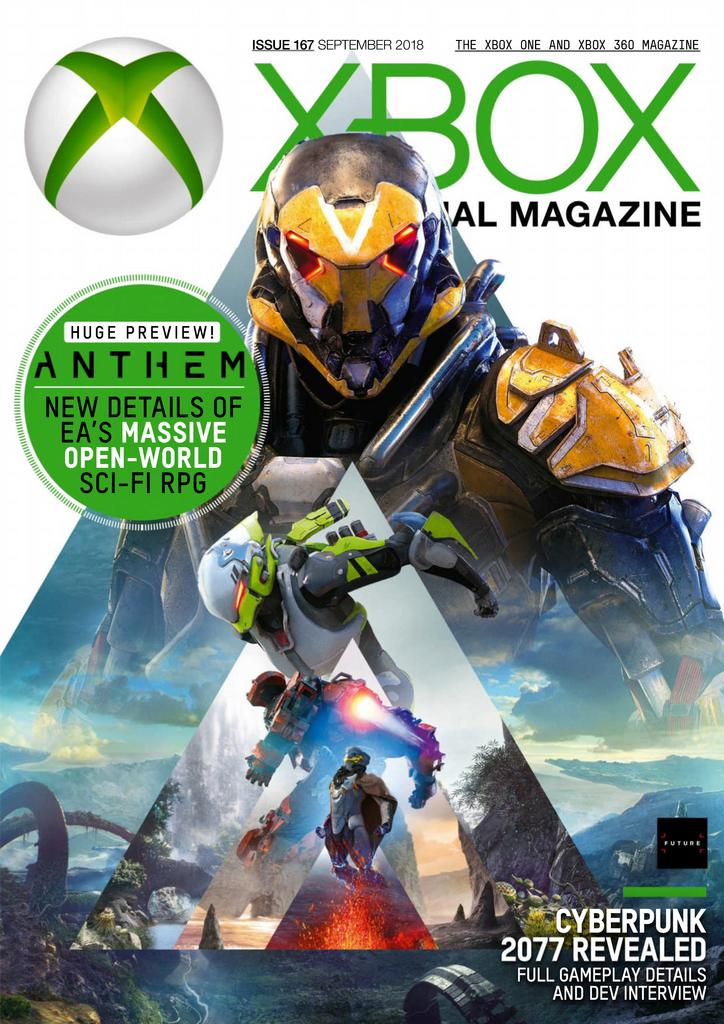 Xbox The Official Magazine UK – September 2018