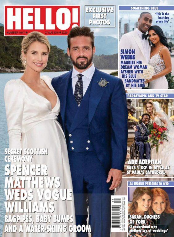 Hello! Magazine UK – 03 September 2018