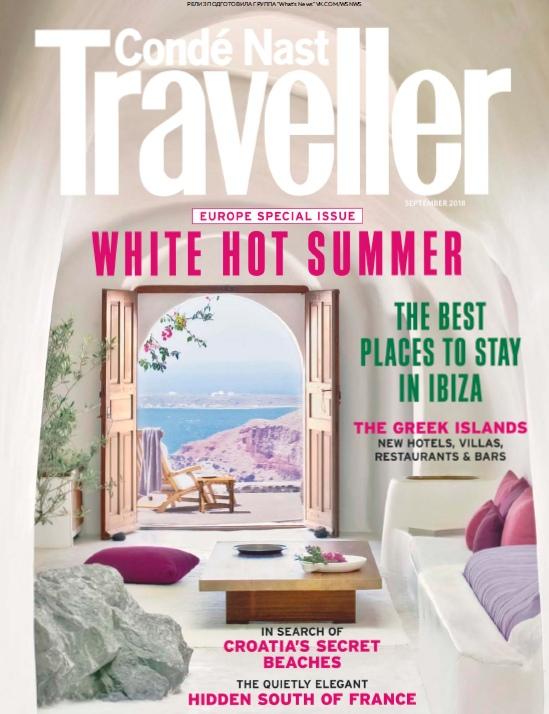 Condé Nast Traveller UK – 09.2018