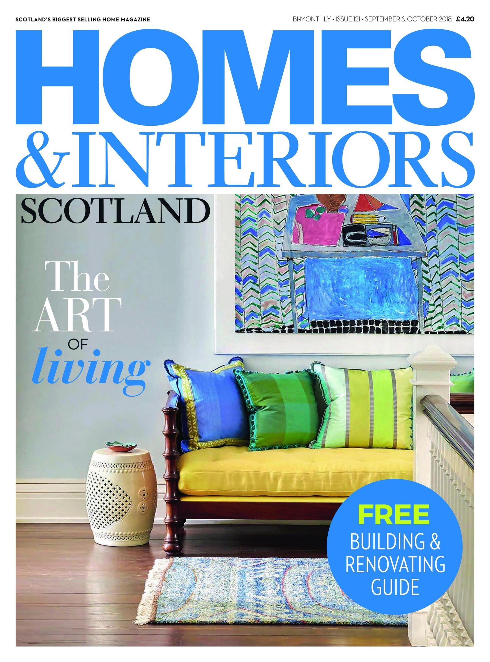 Homes & Interiors Scotland – September-October 2018