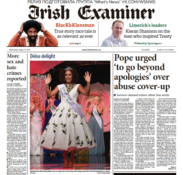 Irish Examiner – 22.08.2018