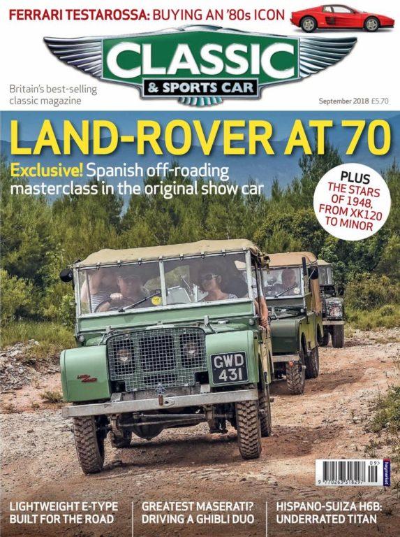 Classic & Sports Car UK – September 2018