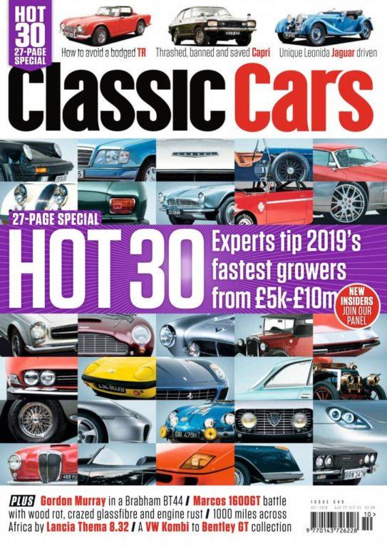 Classic Cars UK – October 2018