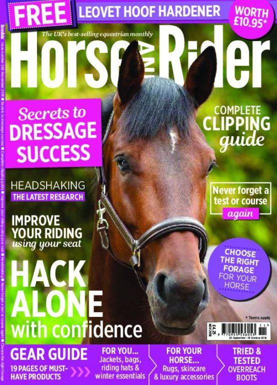 Horse & Rider UK – October 2018