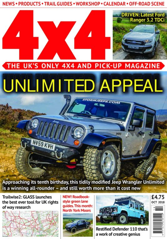 4×4 Magazine UK – October 2018