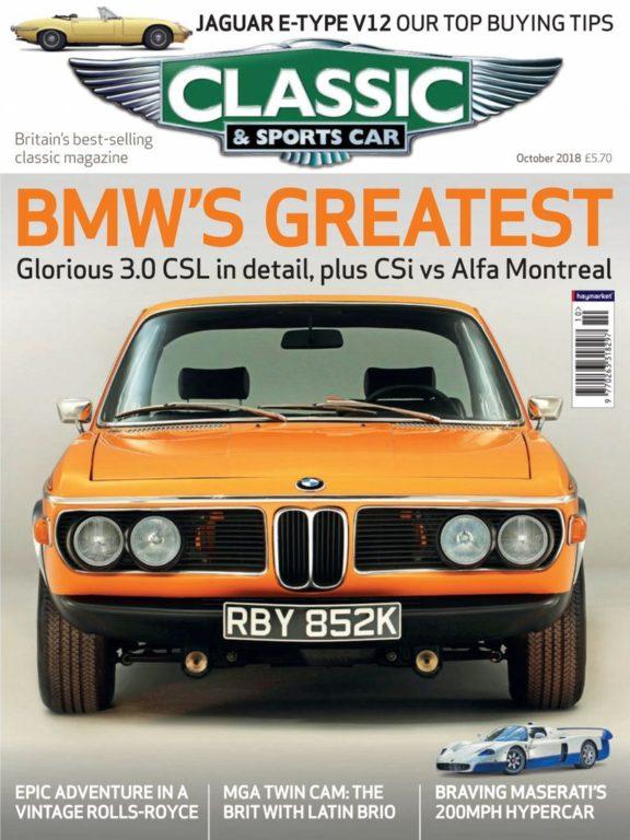 Classic & Sports Car UK – October 2018