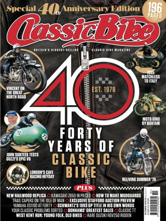 Classic Bike UK – October 2018