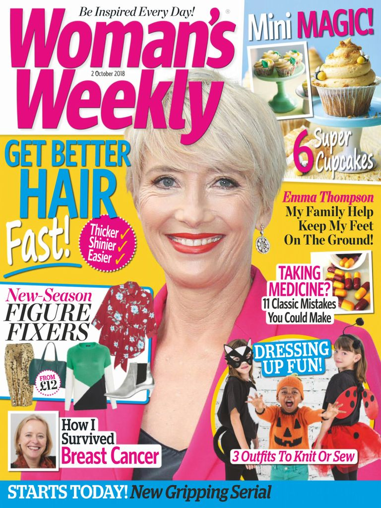 Woman's Weekly UK – 02 October 2018