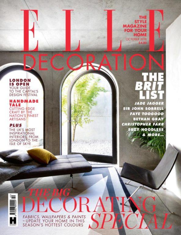 Elle Decoration UK – October 2018
