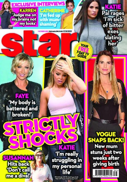 Star Magazine UK – 01 October 2018