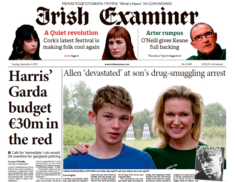 Irish Examiner – 04.09.2018