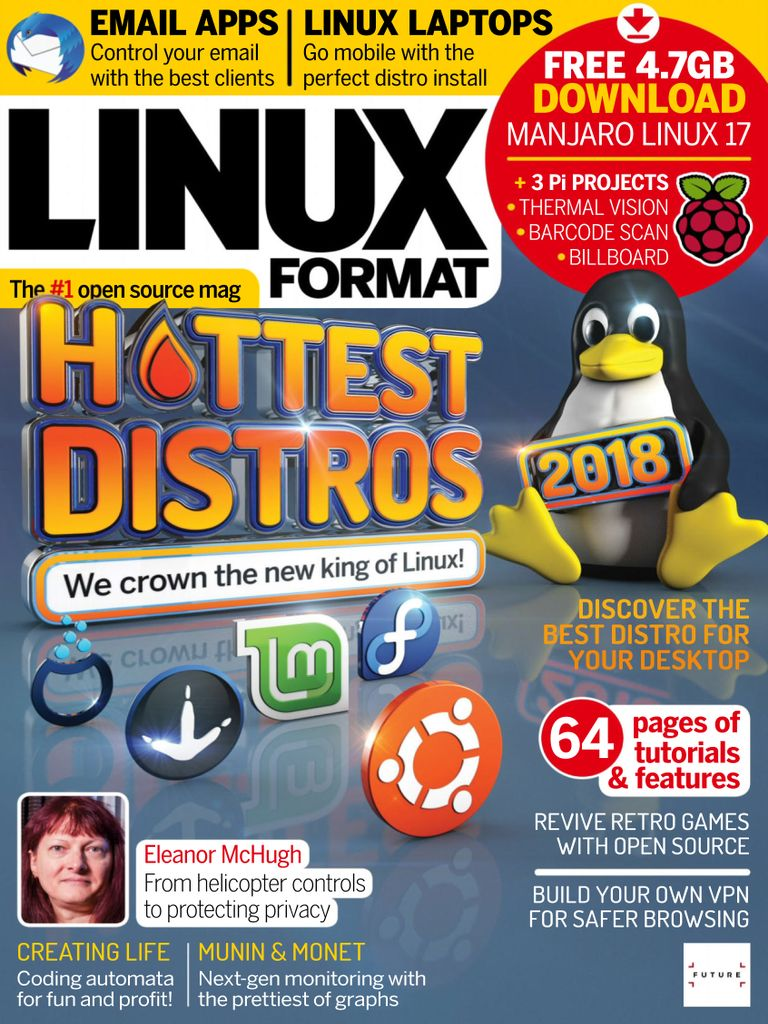 Linux Format UK – October 2018