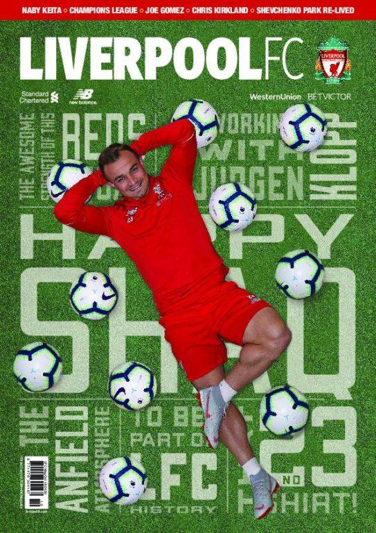 Liverpool FC Magazine – October 2018
