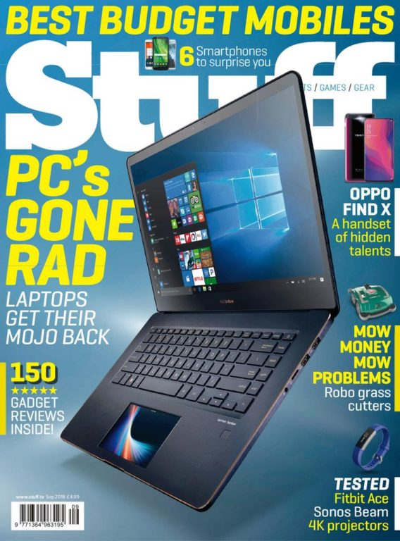 Stuff UK – September 2018