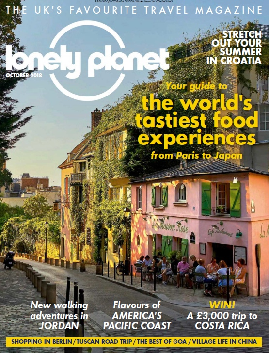 Lonely Planet Traveller UK – 10.2018