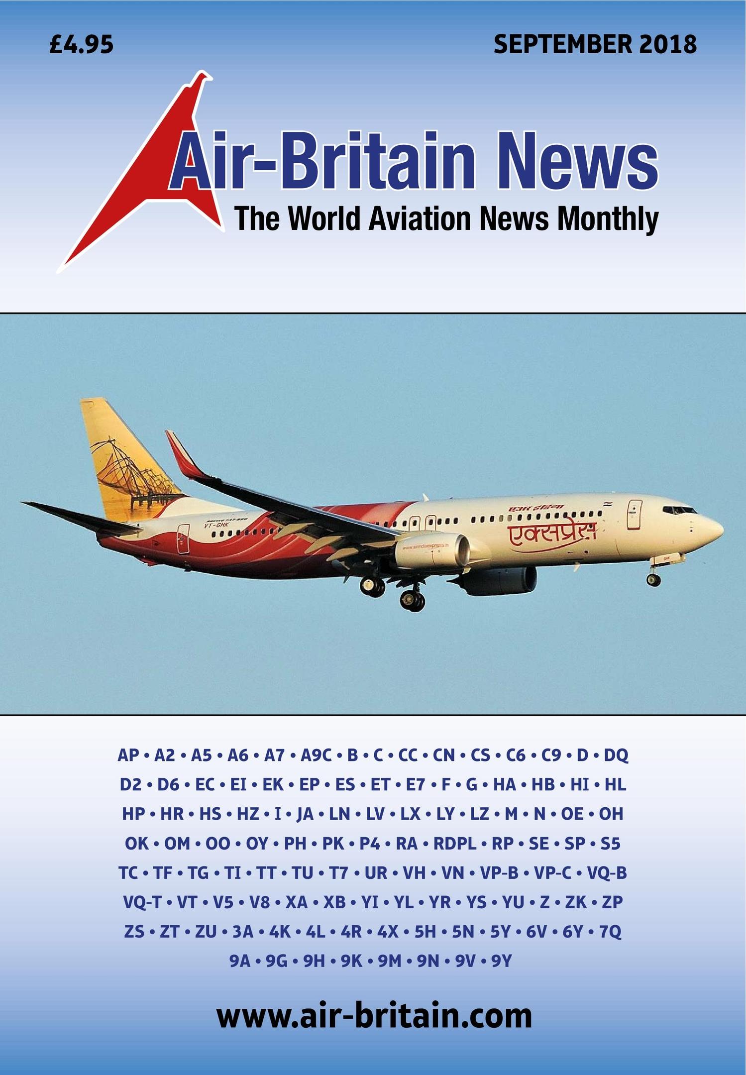 Air Britain Magazine – September 2018