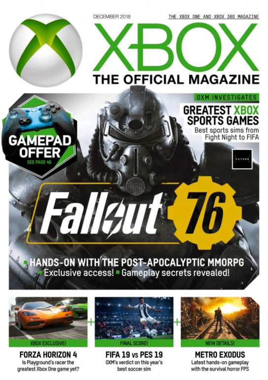 Xbox The Official Magazine UK – December 2018