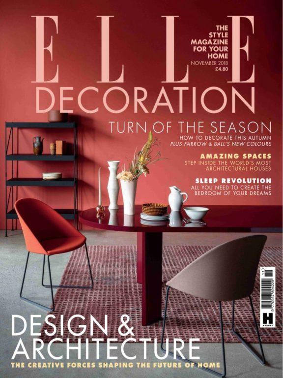 Elle Decoration UK – November 2018