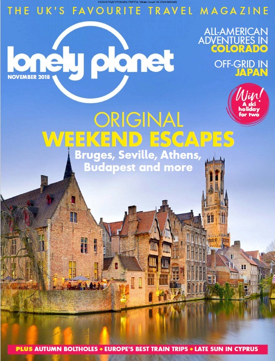 Lonely Planet Traveller UK – 11.2018
