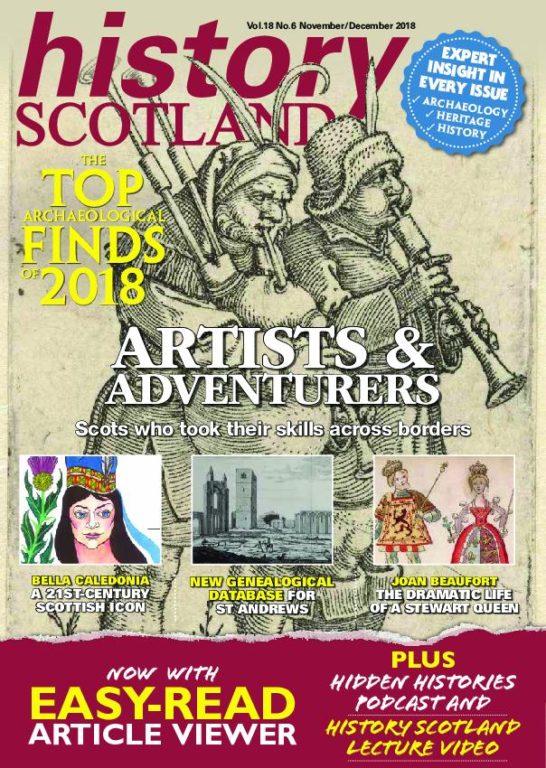 History Scotland – November-December 2018