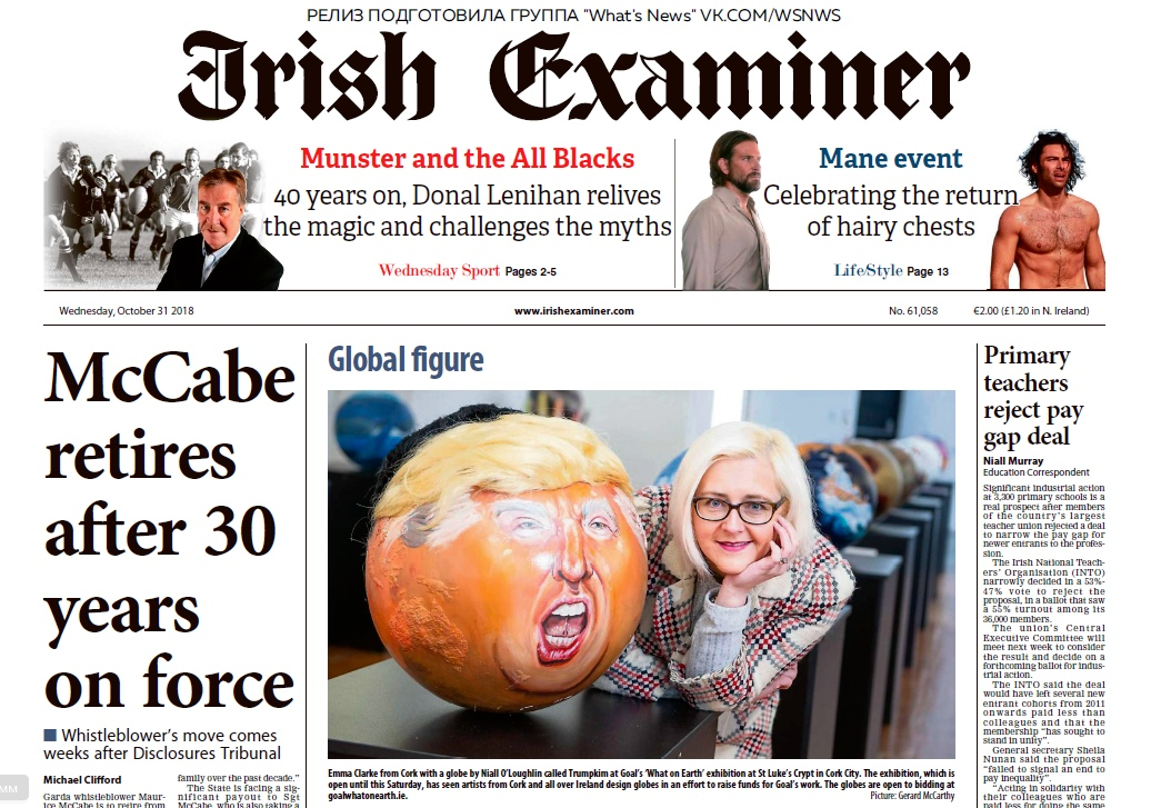 Irish Examiner – 31.10.2018