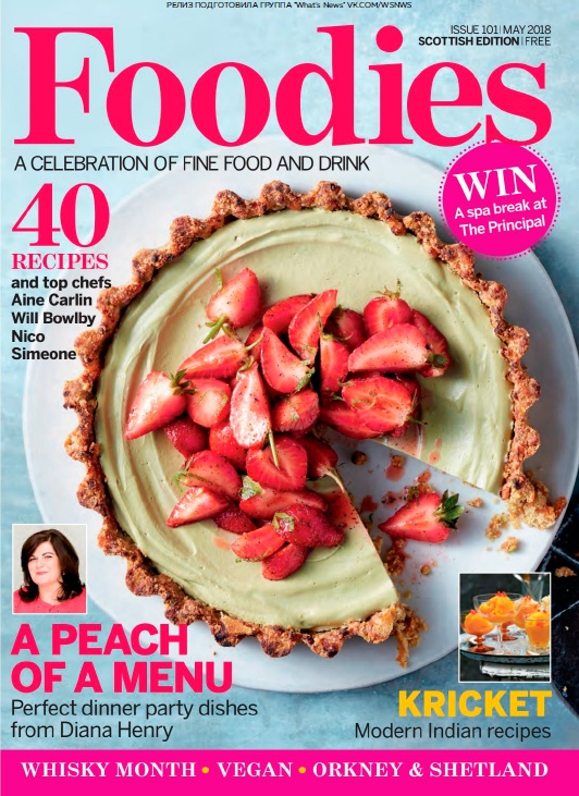 Foodies Magazine – 05.2018
