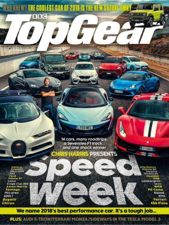 BBC Top Gear UK – November 2018