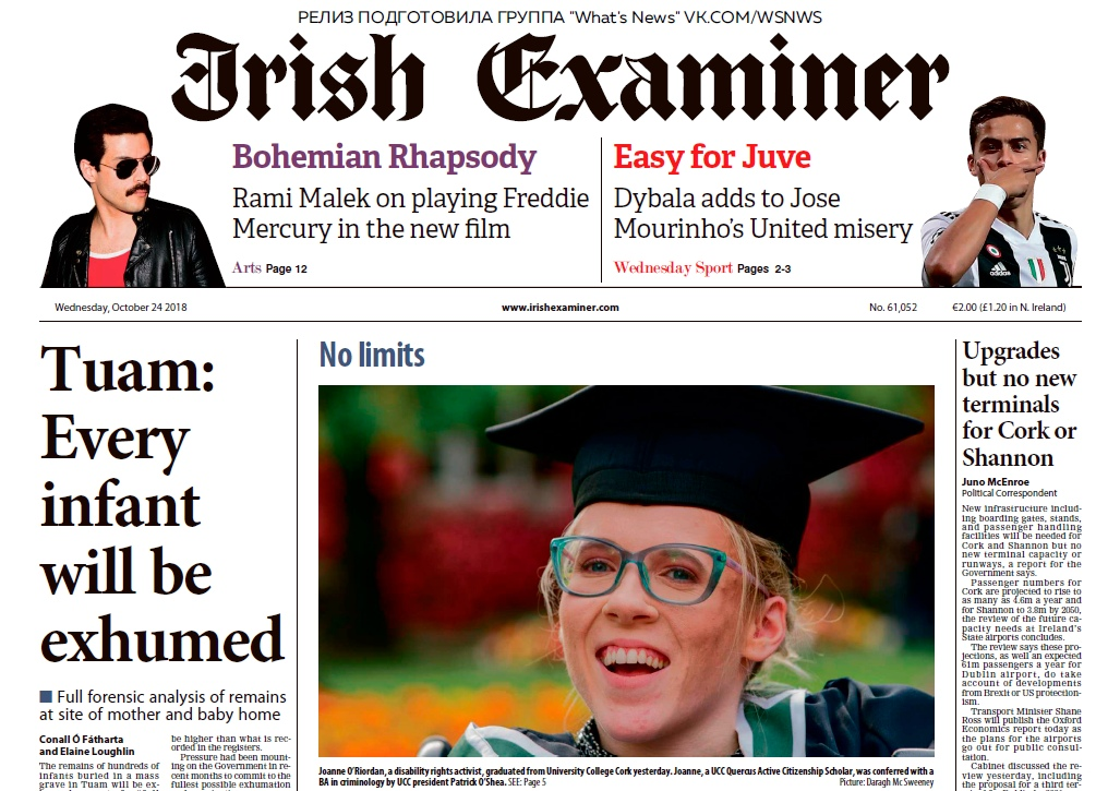 Irish Examiner – 24.10.2018