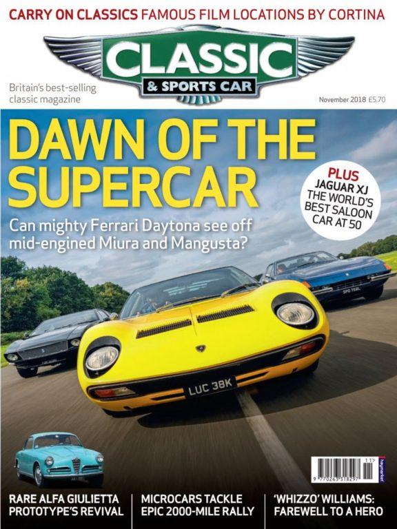 Classic & Sports Car UK – November 2018