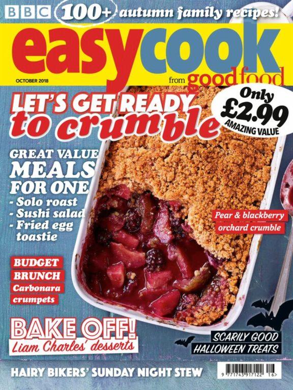 BBC Easy Cook UK – October 2018