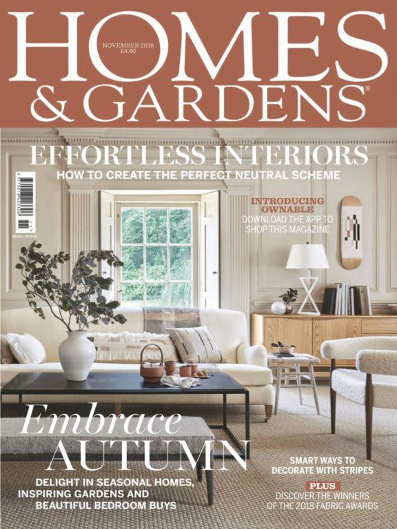 Homes & Gardens UK – November 2018