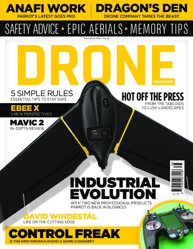 Drone Magazine UK – October 2018