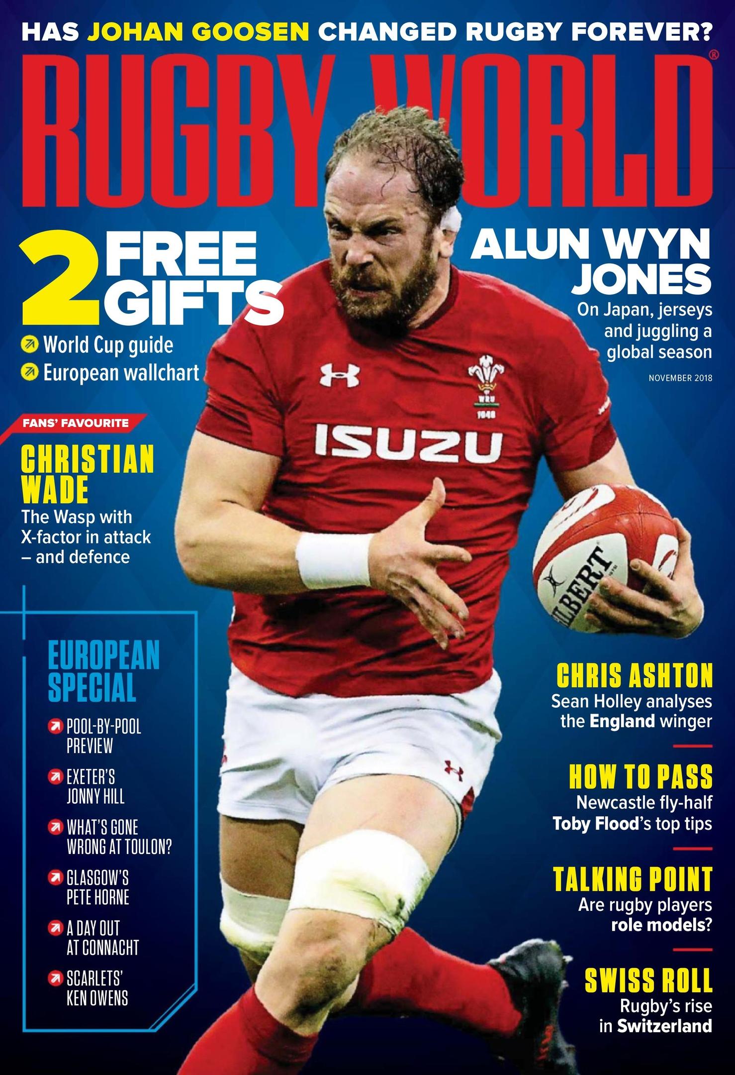 Rugby World UK – November 2018