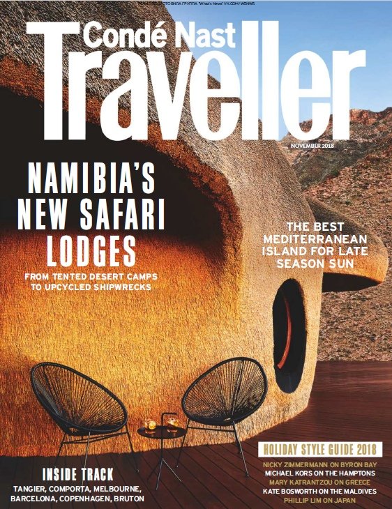 Condé Nast Traveller UK – 11.2018
