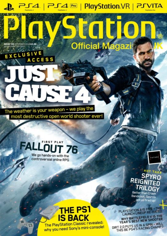 PlayStation Official Magazine UK – December 2018
