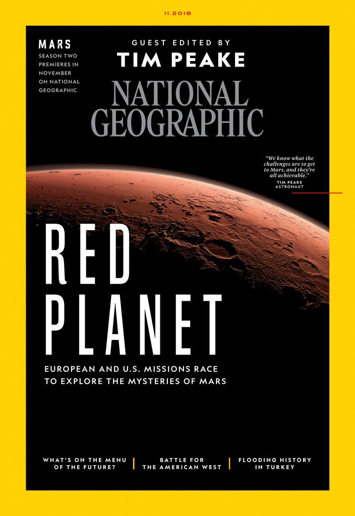 National Geographic UK — November 2018