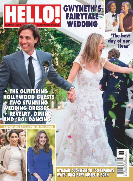 Hello! Magazine UK – 19 November 2018