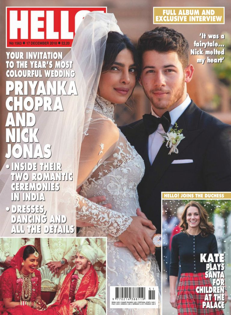 Hello! Magazine UK – 24 December 2018