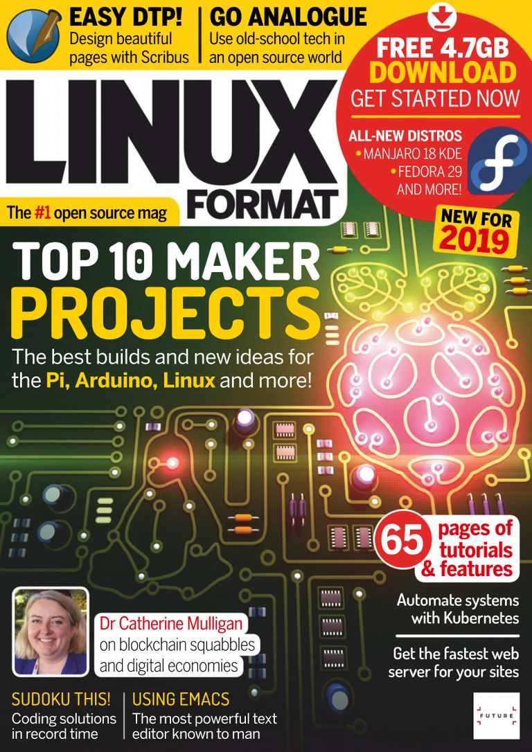 Linux Format UK – January 2019