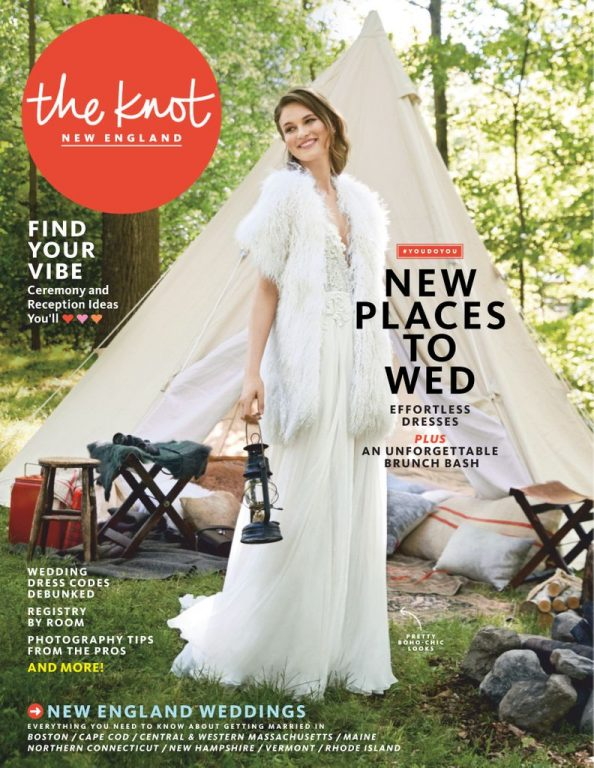 The Knot New England Weddings Magazine – January 2019