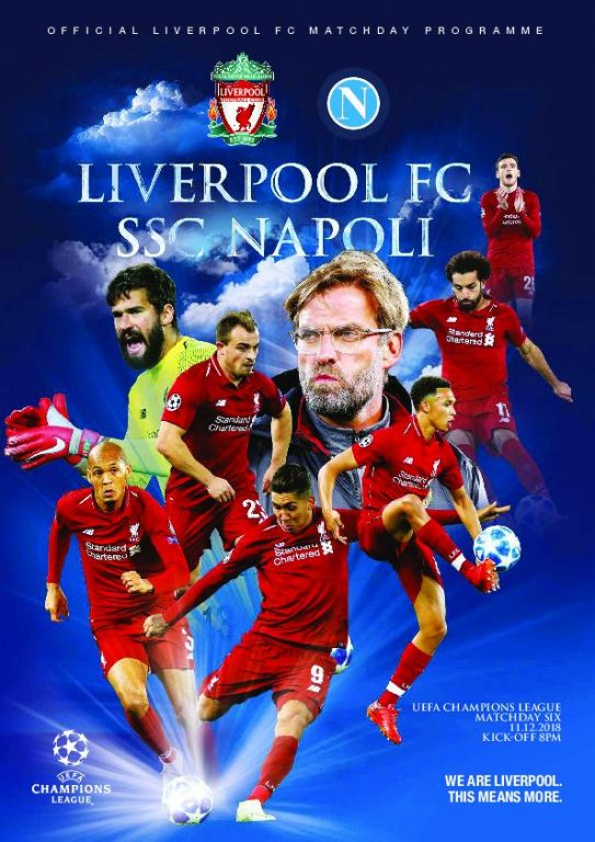 This Is Anfield – Liverpool FC Programmes – 11 December 2018
