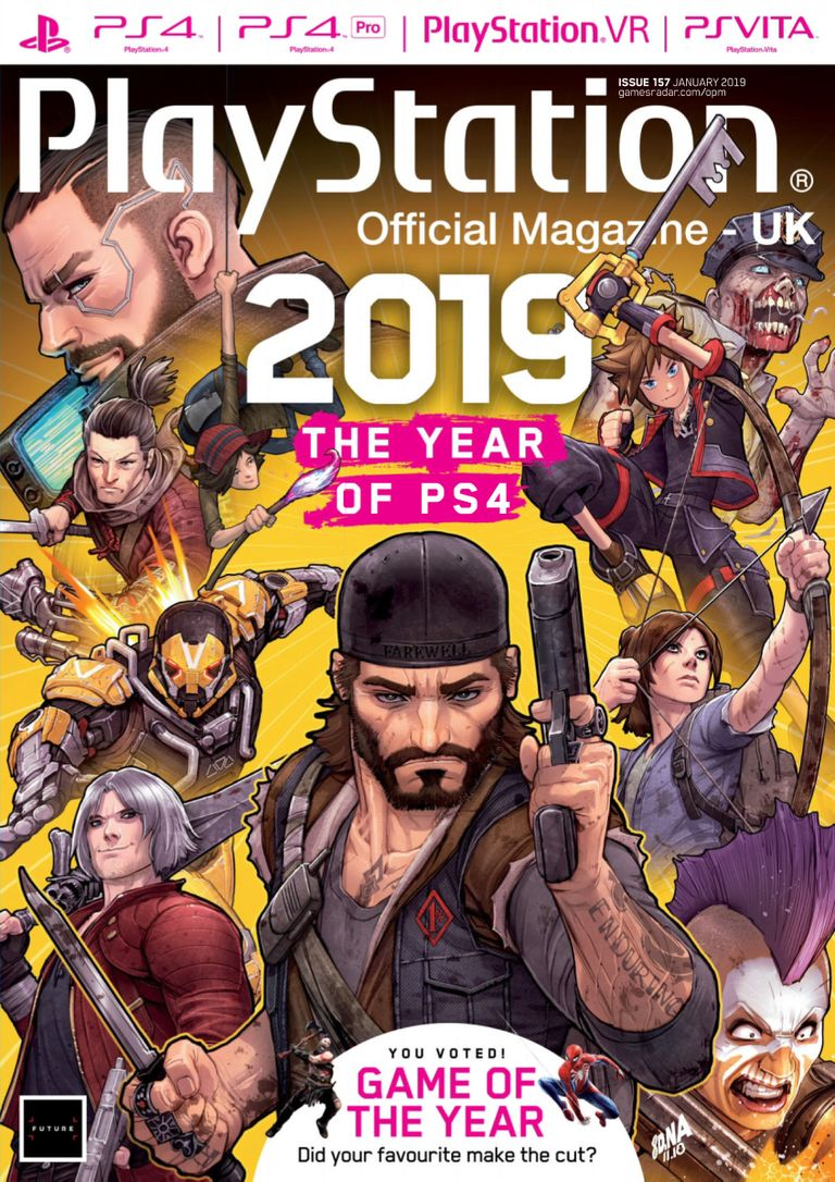 PlayStation Official Magazine UK – January 2019