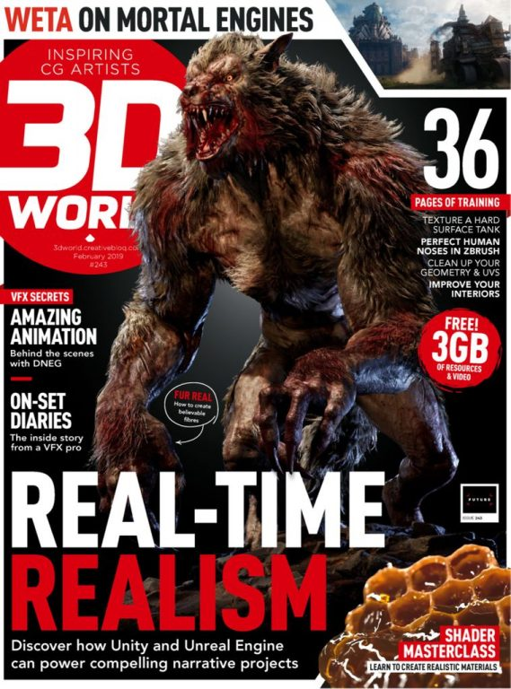 3D World UK – February 2019