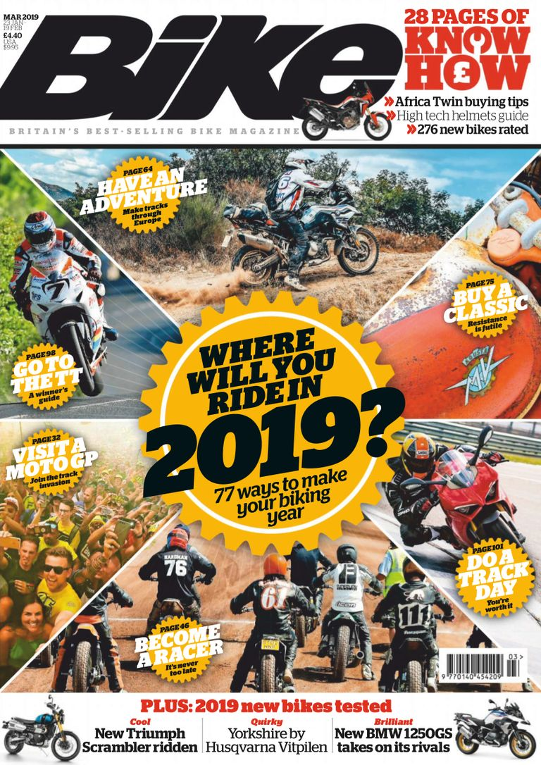 BIke UK – March 2019