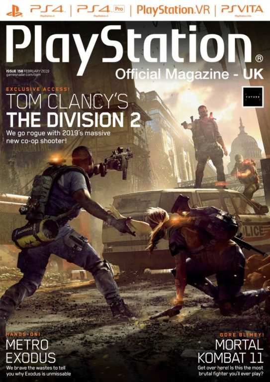 PlayStation Official Magazine UK – February 2019
