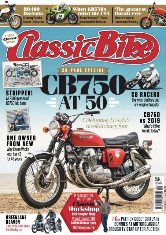Classic Bike UK – February 2019